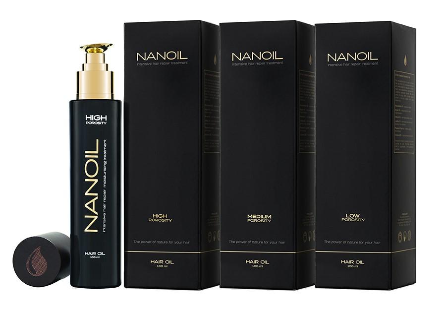 Nanoil - all hair types oil